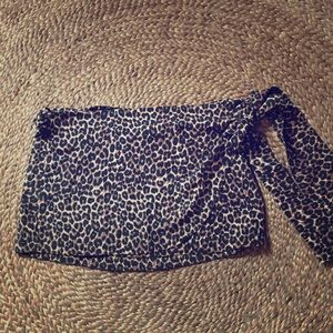 Acacia wrap silk skirts